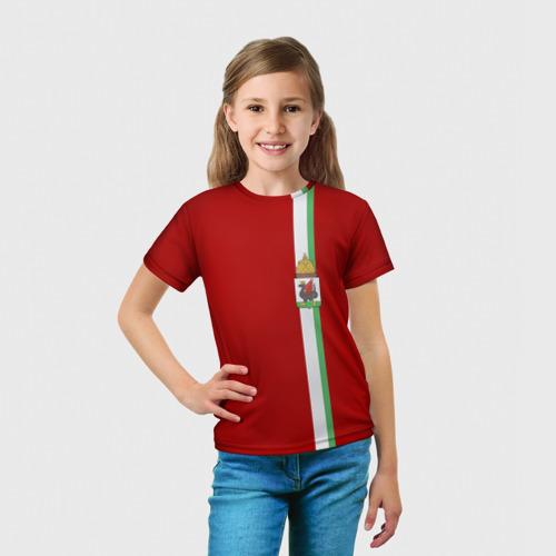Детская футболка 3D  Фото 03, Казань, лента с гербом