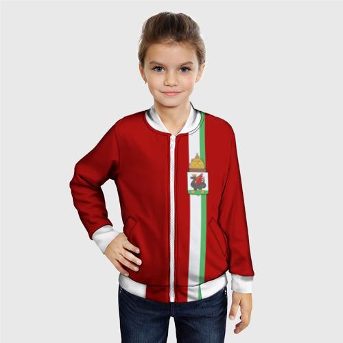 Детский бомбер 3D  Фото 06, Казань, лента с гербом