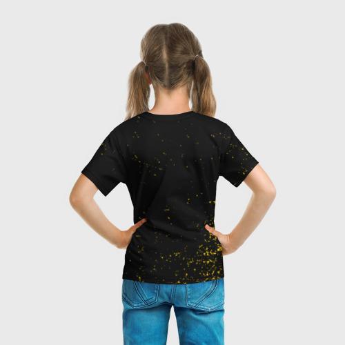 Детская футболка 3D  Фото 04, Attention Attention Black