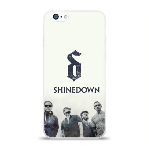 Чехол для Apple iPhone 6 силиконовый глянцевый  Фото 01, Shinedown band