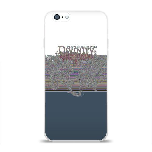 Чехол для Apple iPhone 6 силиконовый глянцевый  Фото 01, Divinity
