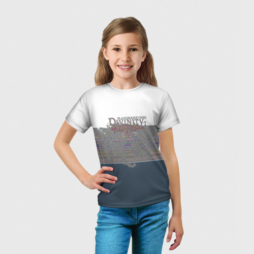 Детская футболка 3D  Фото 03, Divinity