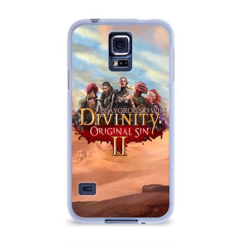 Чехол для Samsung Galaxy S5 силиконовый  Фото 01, Divinity