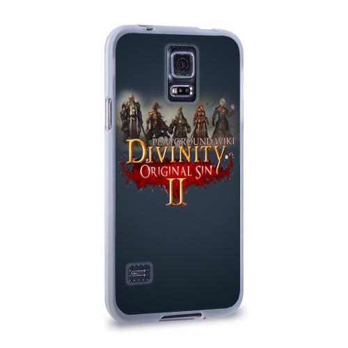 Чехол для Samsung Galaxy S5 силиконовый  Фото 02, Divinity, Original Sin, Божество, Дивинити