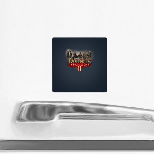 Магнит виниловый Квадрат  Фото 02, Divinity, Original Sin, Божество, Дивинити