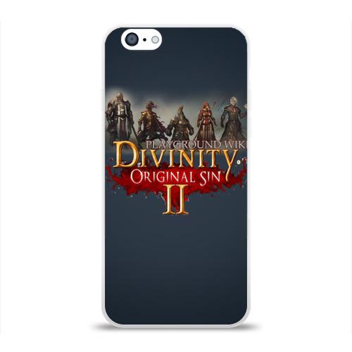 Чехол для Apple iPhone 6 силиконовый глянцевый  Фото 01, Divinity, Original Sin, Божество, Дивинити