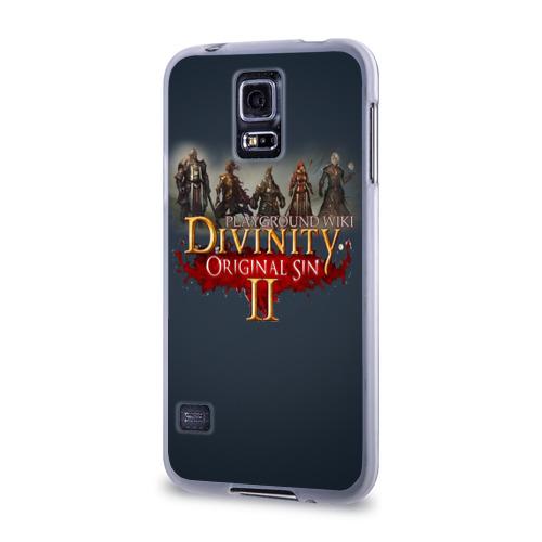 Чехол для Samsung Galaxy S5 силиконовый  Фото 03, Divinity, Original Sin, Божество, Дивинити