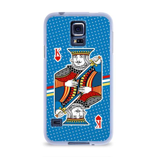 Чехол для Samsung Galaxy S5 силиконовый  Фото 01, The King