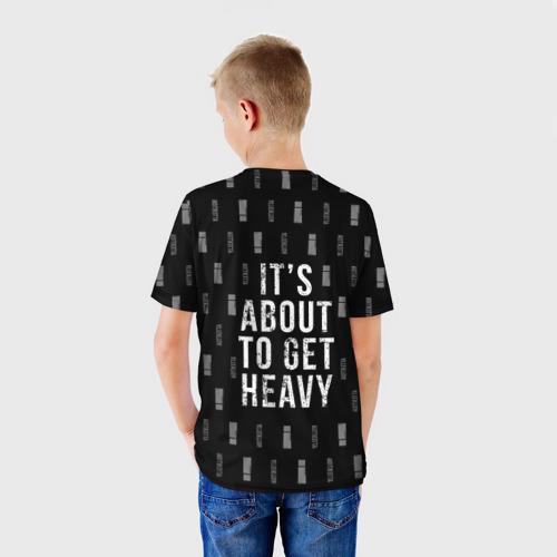 Детская футболка 3D  Фото 02, Attention Pattern