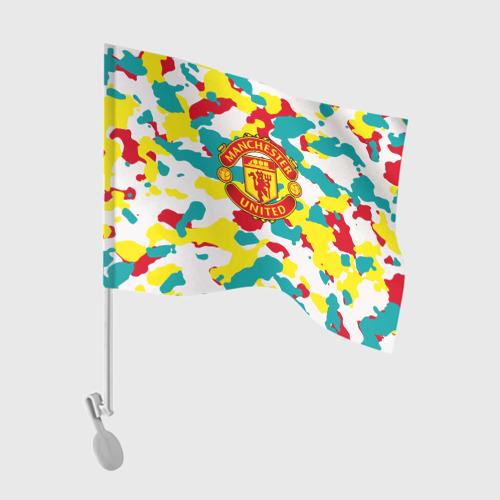 Флаг для автомобиля Manchester United