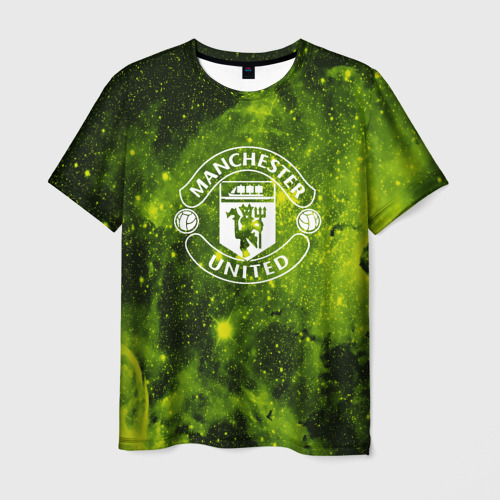 Мужская футболка 3D  Фото 01, Manchester United Cosmos