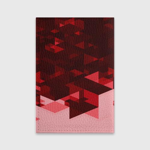 Обложка для паспорта матовая кожа  Фото 02, Manchester United Abstract