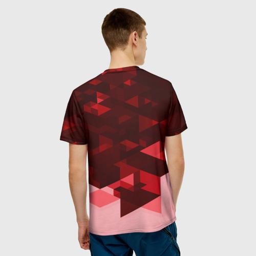 Мужская футболка 3D Manchester United Abstract