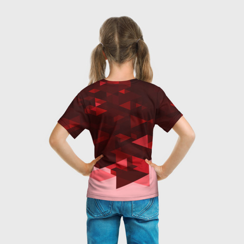 Детская футболка 3D  Фото 04, Манчестер Юнайтед