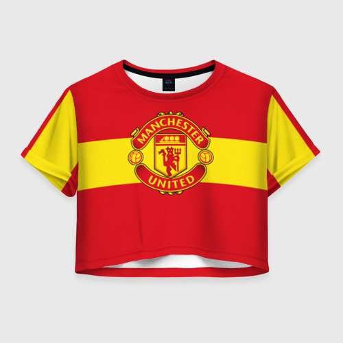 Женская футболка Cropp-top Манчестер Юнайтед ФК