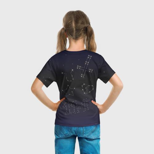 Детская футболка 3D  Фото 04, Тату Лил Пипа звезды на небе