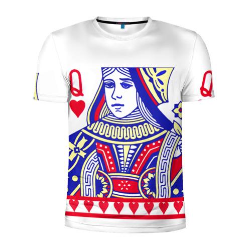 Мужская футболка 3D спортивная  Фото 01, Red Queen