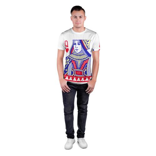 Мужская футболка 3D спортивная  Фото 04, Red Queen