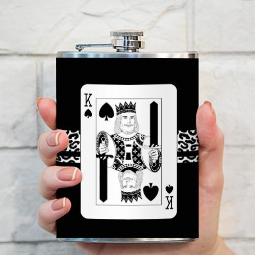 Фляга  Фото 03, King of spades