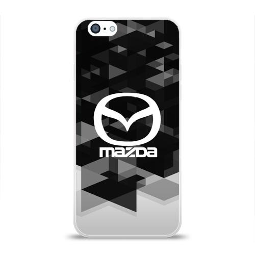 Чехол для Apple iPhone 6 силиконовый глянцевый  Фото 01, Mazda sport geometry