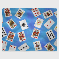 Cards Blue pattern