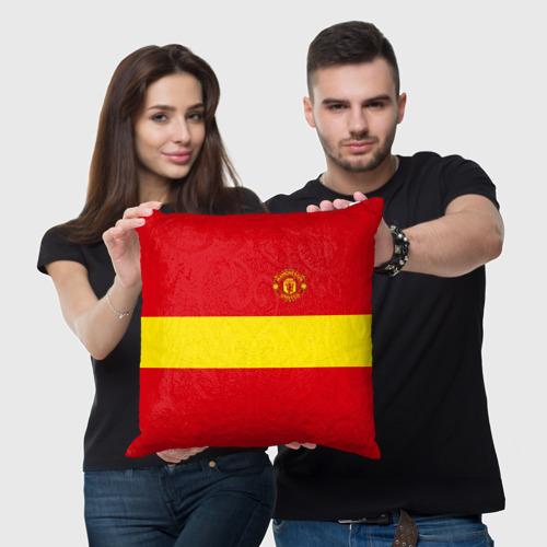 Подушка 3D Manchester United Фото 01