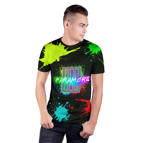 Мужская футболка 3D спортивная  Фото 03, Paramore