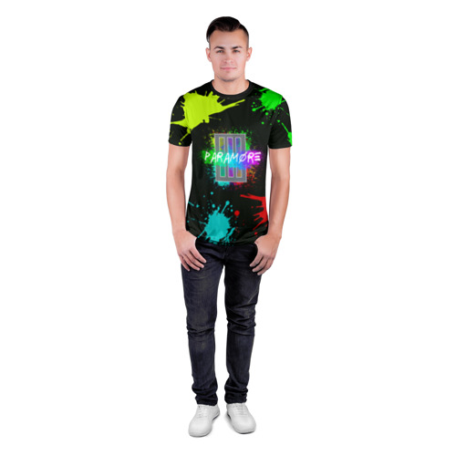 Мужская футболка 3D спортивная  Фото 04, Paramore