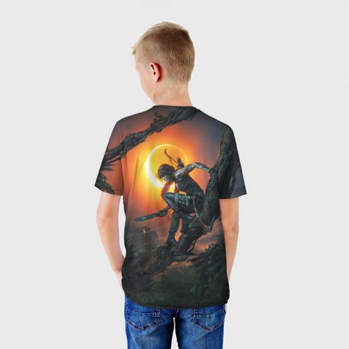 Детская футболка 3D  Фото 02, Shadow of the Tomb Raider