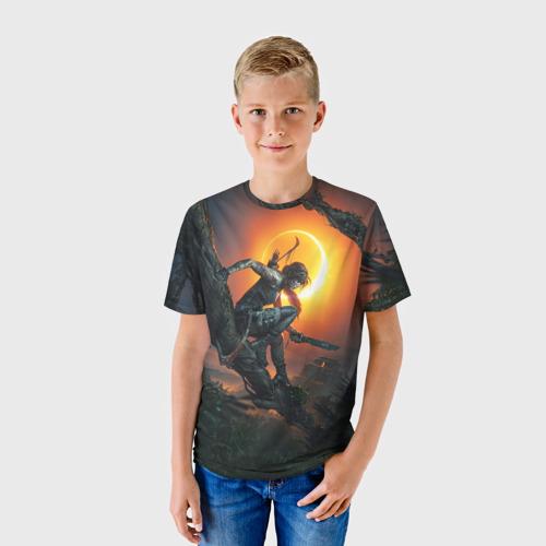 Детская футболка 3D  Фото 01, Shadow of the Tomb Raider