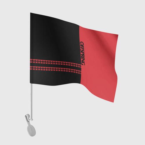 Флаг для автомобиля The Offspring Фото 01