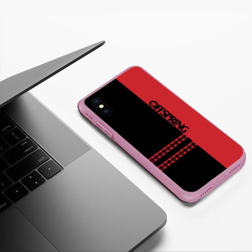 Чехол для iPhone XS Max матовый The Offspring Фото 01