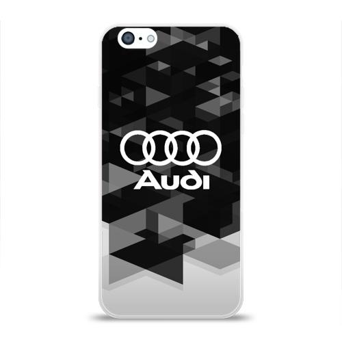 Чехол для Apple iPhone 6 силиконовый глянцевый  Фото 01, Audi sport geometry
