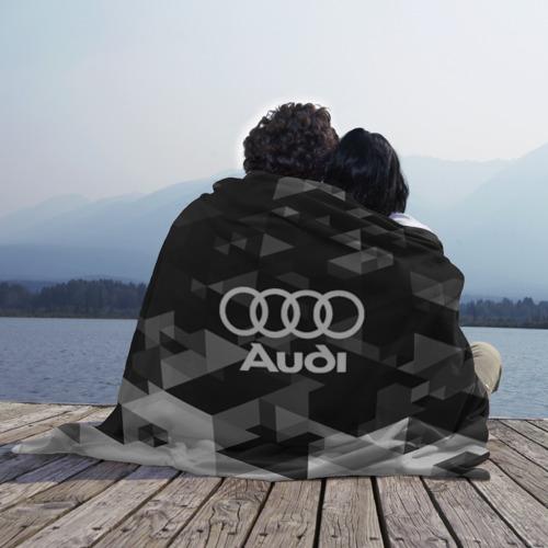 Плед 3D Audi sport geometry Фото 01