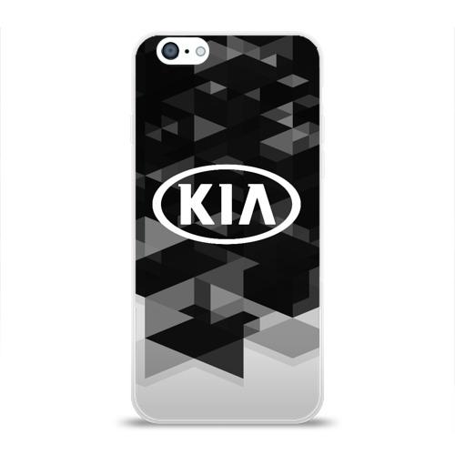 Чехол для Apple iPhone 6 силиконовый глянцевый  Фото 01, Kia sport geometry