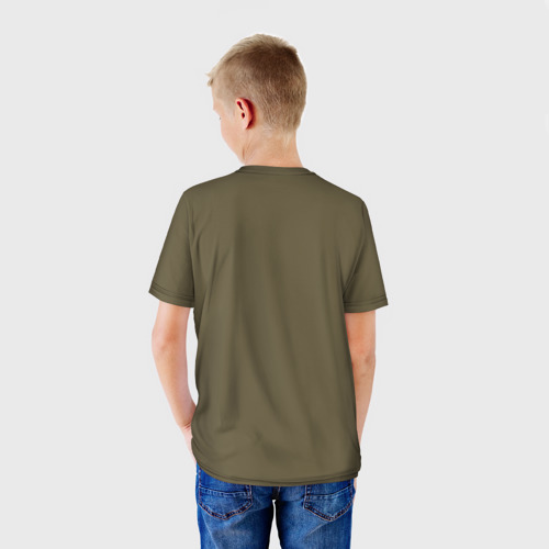 Детская футболка 3D  Фото 02, Звезда охотника