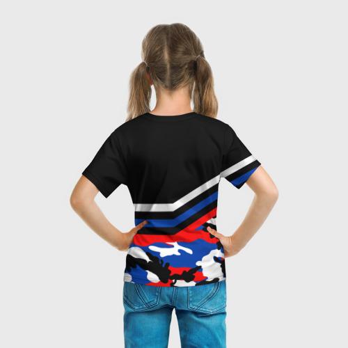 Детская футболка 3D  Фото 04, Камуфляж Россия