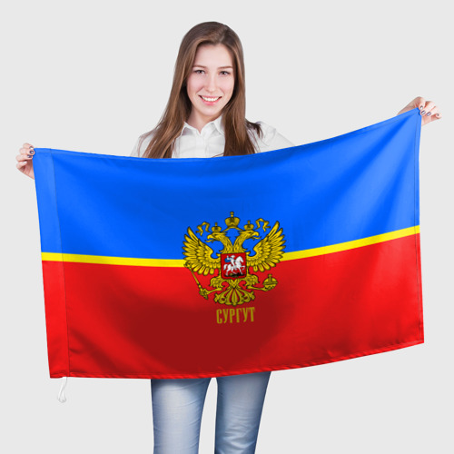 Флаг 3D Сургут One фото