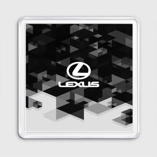 Магнит 55*55  Фото 01, Lexus sport geometry