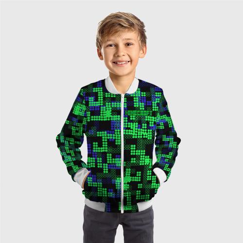 Детский бомбер 3D  Фото 05, Minecraft