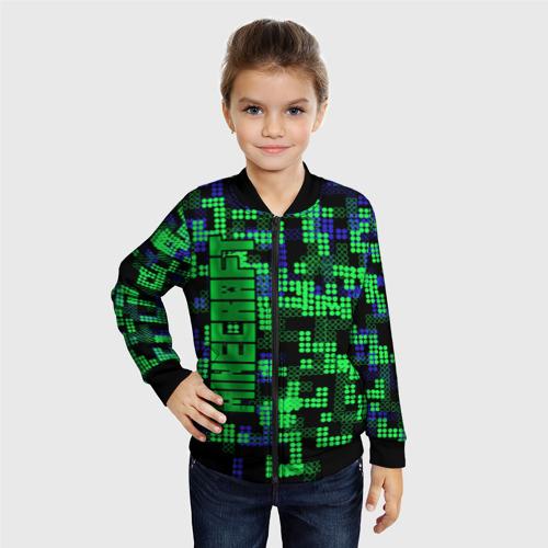 Детский бомбер 3D  Фото 06, Minecraft