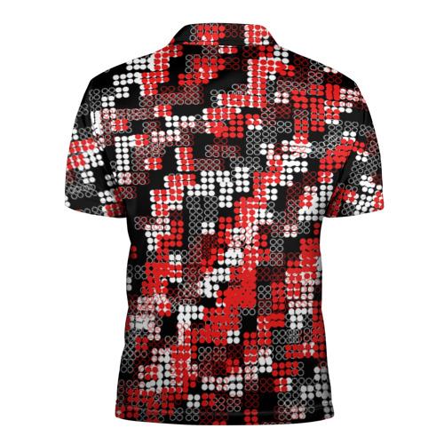 Мужская рубашка поло 3D  Фото 02, Майнкрафт