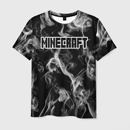 Мужская футболка 3D  Фото 03, Майнкрафт