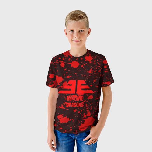 Детская футболка 3D IMAGINE DRAGONS