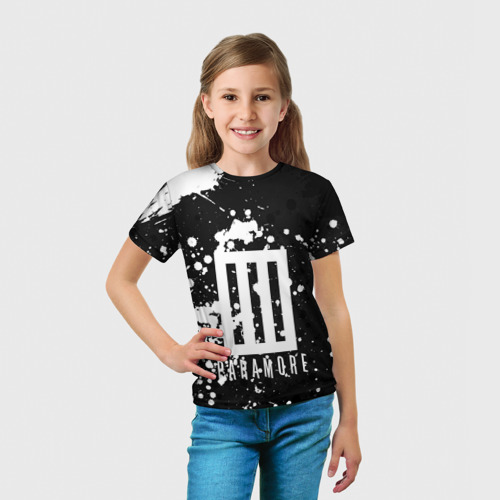 Детская футболка 3D  Фото 03, Paramore