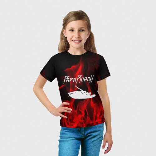 Детская футболка 3D  Фото 03, Papa Roach