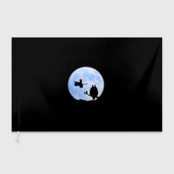 Totoro and the moon