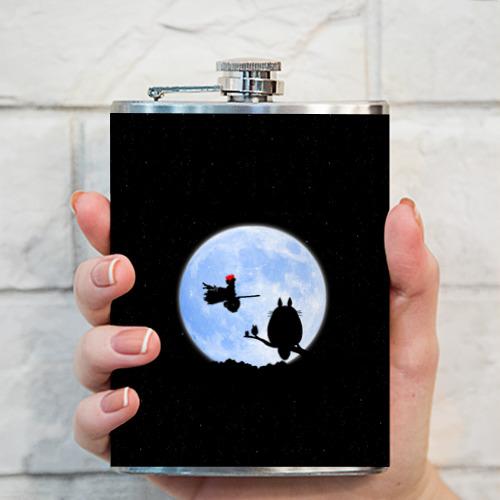 Фляга  Фото 03, Totoro and the moon