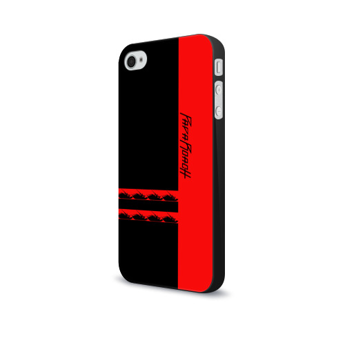 Чехол для Apple iPhone 4/4S soft-touch  Фото 03, Papa Roach