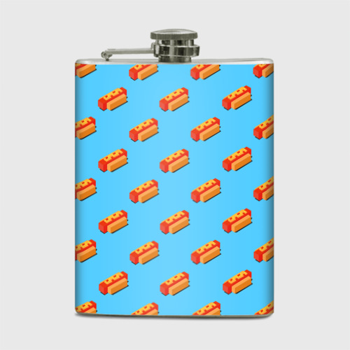 Фляга  Фото 01, Hot Dog Pattern